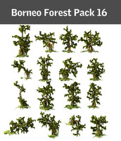 borneo forest pack 16 3d max