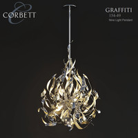corbett lighting 154-49 pendant max