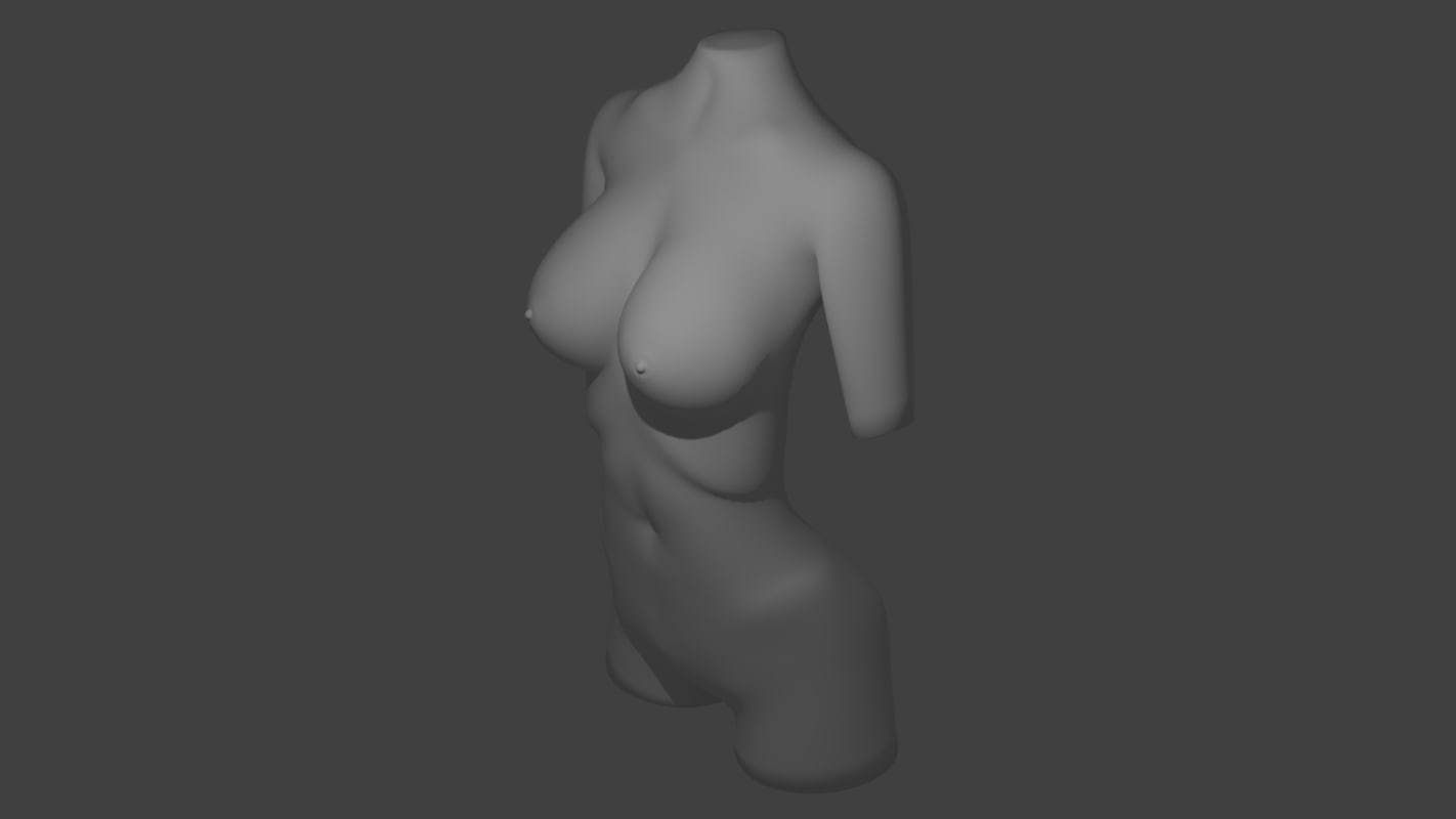 3ds female body