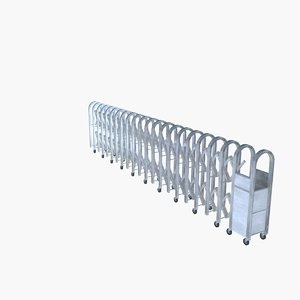 gate electric 3d model