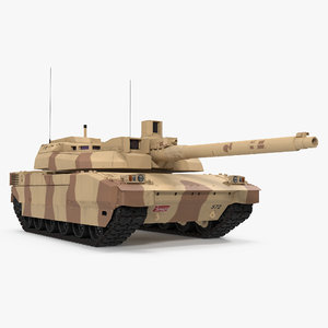 french army tank amx 3d model