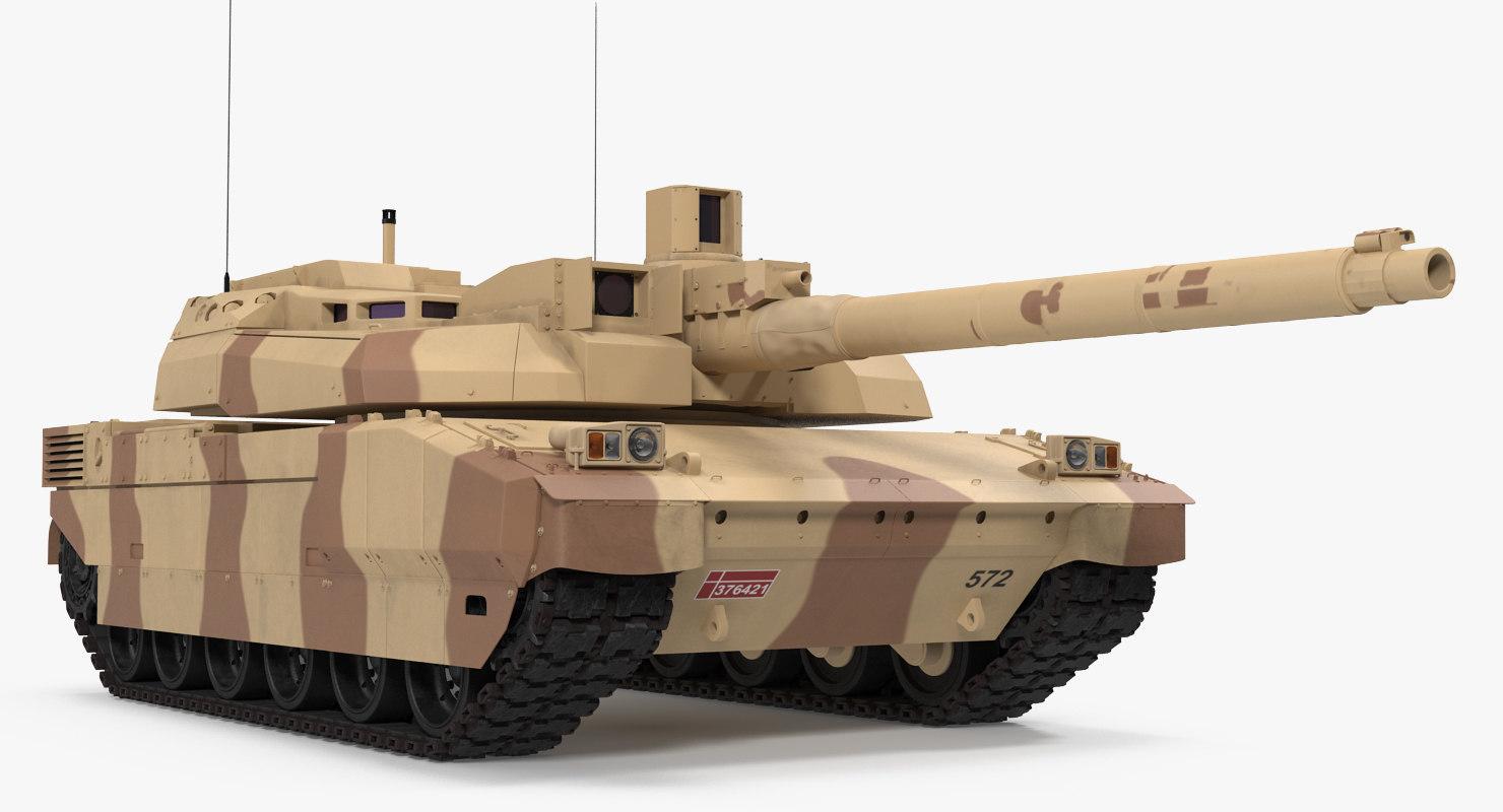 french army tank amx 3d model
