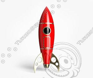 rocket 3d 3ds
