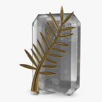 palme d prize small 3d max