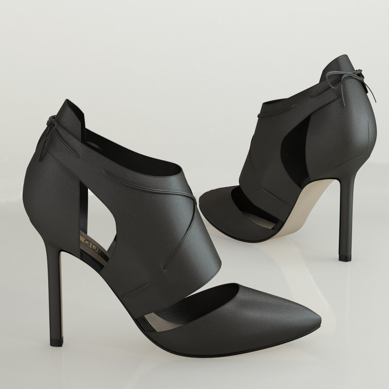 guess leather ankle 3d max