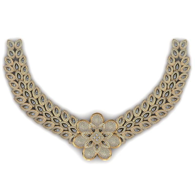 necklace 3d 3ds