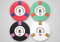 3d model casino chips