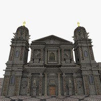 3d theatinerkirche model