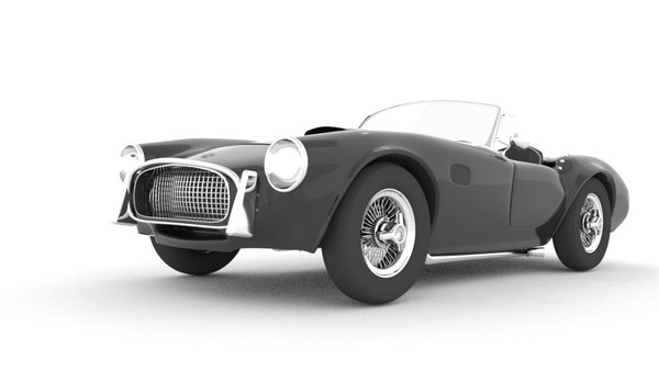 blender ac cobra obj