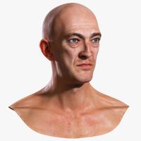 vincent - male head 3d model