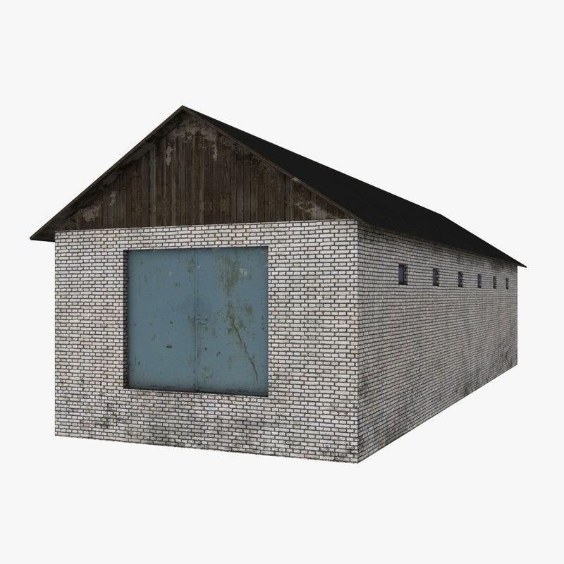 hangar obj free