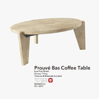 Prouve Bas Coffee table