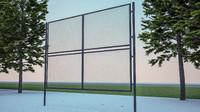 fences gates 3ds