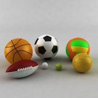 3d model sports ball