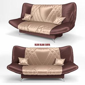 klik klak sofa2 3d obj