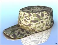 army cap 3d model