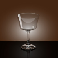 cocktail glass 3d 3ds