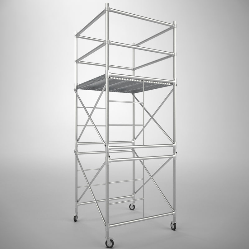 scaffold tower 3d max
