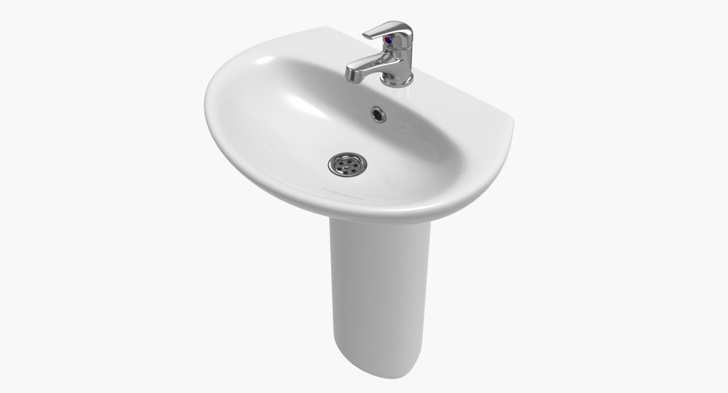 3d sink faucet