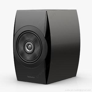 3d bookshelf technics sb-c700 black