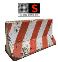 Concrete Barrier Scan 8K (2)
