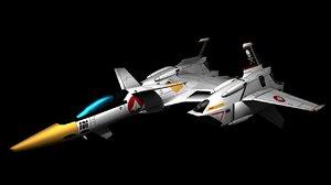 vf-4 lightning iii fighter obj