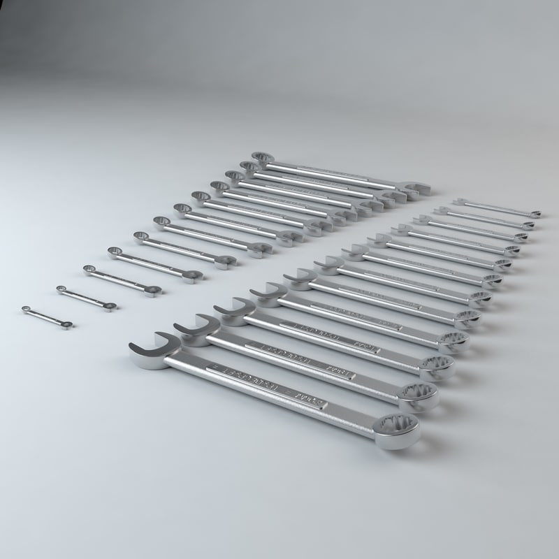 c4d set wrenches