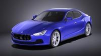 Maserati Ghibli 2016 VRAY
