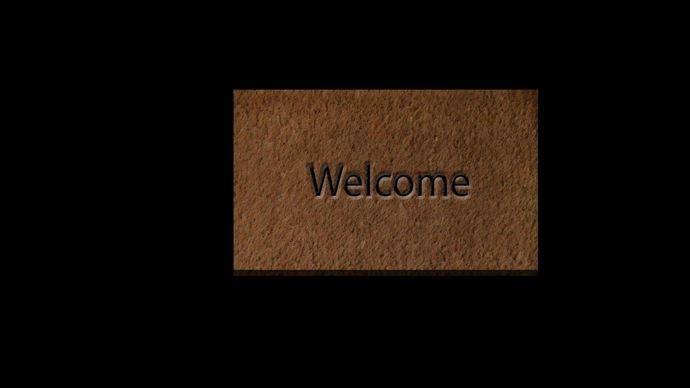 3d welcome mat