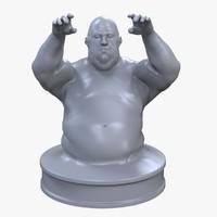 max biggy man statuette