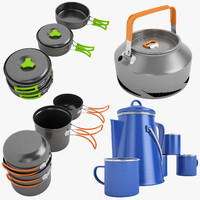 Camping Cookware Collection 01