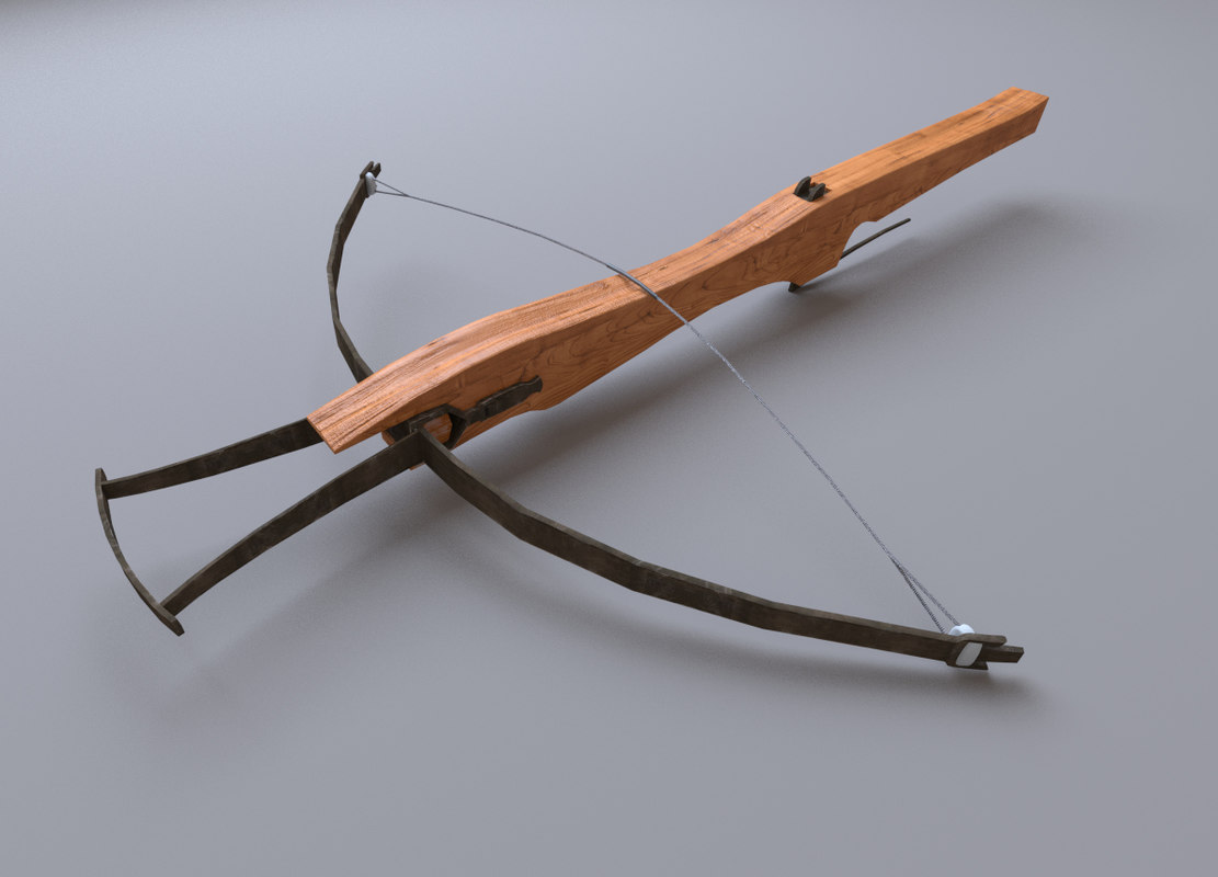 bow crossbow 3d 3ds