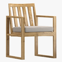 3d model david sutherland dining chair