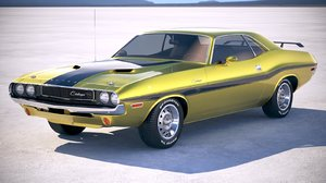 classic dodge challenger 3ds