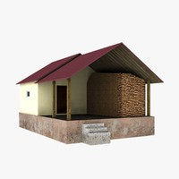 3d bath bathhouse model