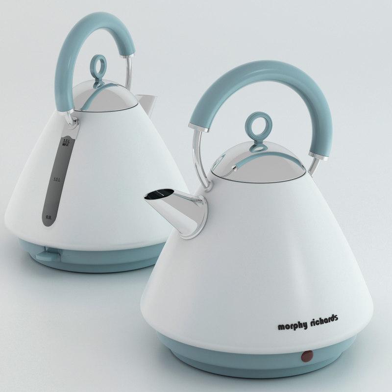 3d model morphy kettle