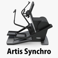 3d model artis synchro technogym