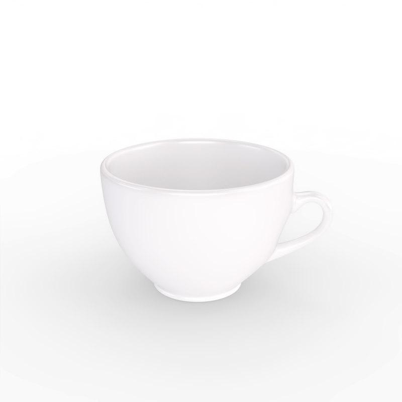 3d model tea cup coffee
