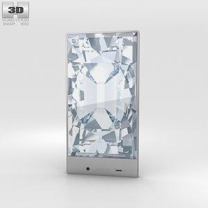 3d sharp aquos crystal