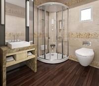 3d materials toilets bathroom shower