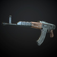 3d dementiev s assault rifle
