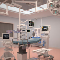 3d model gynecological room