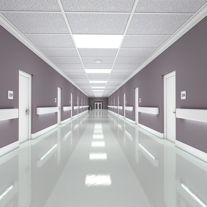 3d hallway 1 interior