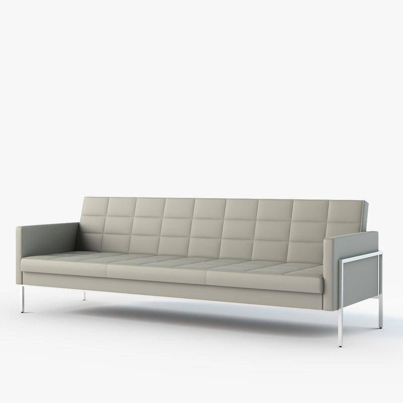 ethos designer sofa 3d max