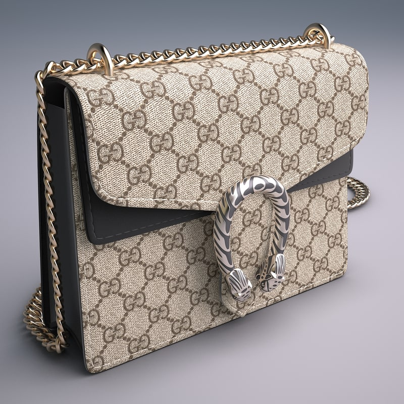 962045f533b 3d mini bag dionysus gg model