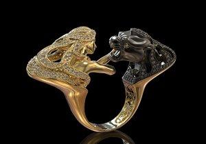 3d model ring magerit instinto print