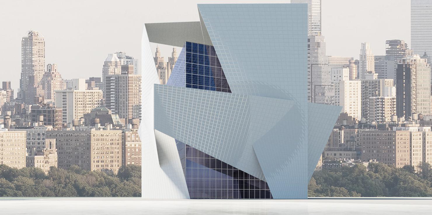 modern futuristic 3d max