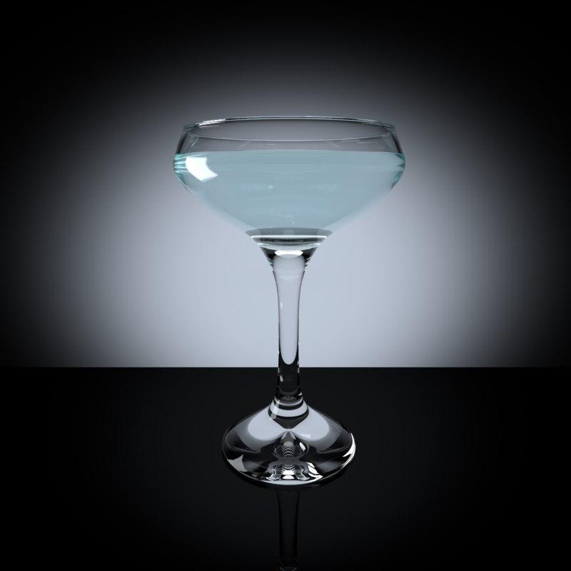 3ds martini glass