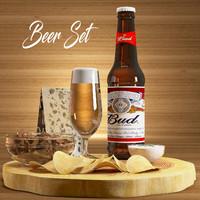 3d beer model