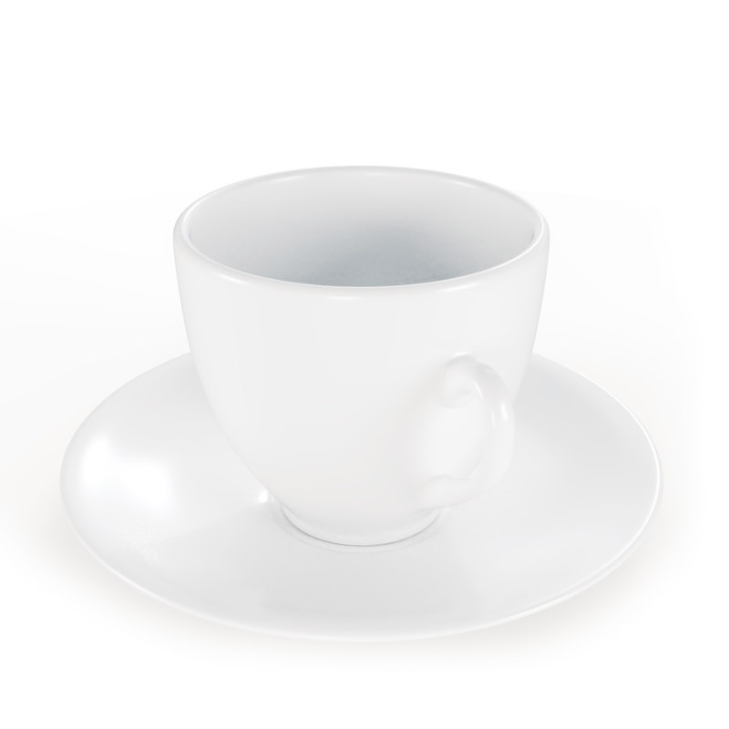 espresso coffee cup set 3ds